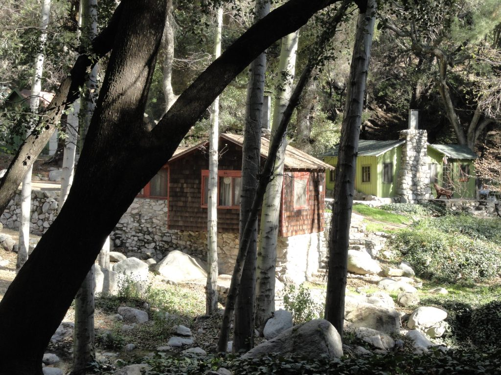 Chantry flats cabins how did they get here canyon for Chantry flats cabins rental